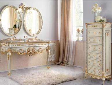 Итальянская мебель для ванной комнаты Manuel фабрики Fratelli Pistolesi