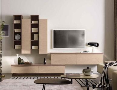 Итальянская мебель для ТВ Alchimie Eclettica фабрики SIGNORINI & COCO