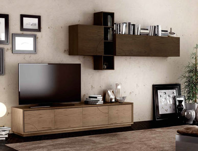Итальянская мебель для ТВ Alchimie Infinity фабрики SIGNORINI & COCO