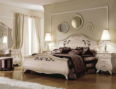 Итальянская спальня Monreale Laccata фабрики SIGNORINI & COCO