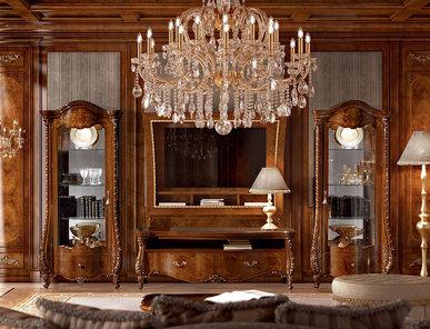 Итальянская мебель для ТВ Portofino Ciliegio фабрики SIGNORINI & COCO