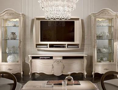 Итальянская мебель для ТВ Certosa Laccato фабрики SIGNORINI & COCO