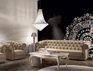 Итальянская мягкая мебель Certosa фабрики SIGNORINI & COCO