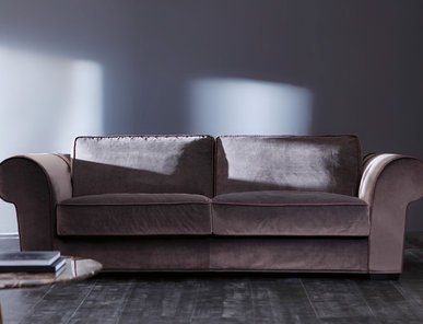 Итальянская мягкая мебель Opera Fedora Classic фабрики Angelo Cappellini
