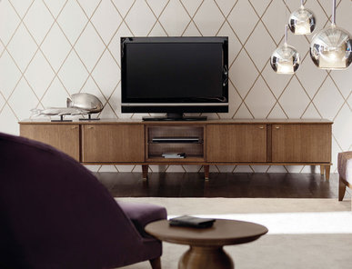 Итальянская мебель для ТВ Opera фабрики Angelo Cappellini