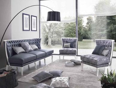 Итальянская мягкая мебель Delice фабрики Morello Gianpaolo