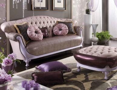 Итальянская мягкая мебель Vanity фабрики Morello Gianpaolo