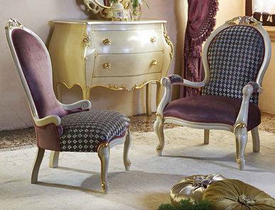 Итальянские кресла Atena & Lodi фабрики Morello Gianpaolo