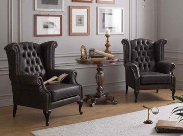 Итальянские кресла Bonaparte фабрики Morello Gianpaolo