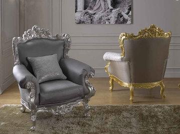 Итальянские кресла Charmant фабрики Morello Gianpaolo