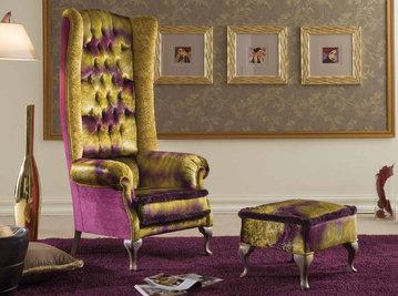 Итальянские кресла Patrick фабрики Morello Gianpaolo