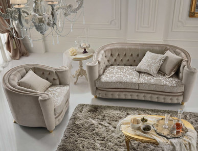 Итальянская мягкая мебель Allegro фабрики Stilema