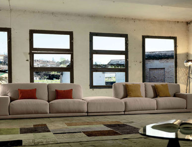 Итальянская мягкая мебель Doyle Margot фабрики Stilema