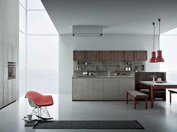 Итальянская кухня Line K фабрики Zampieri
