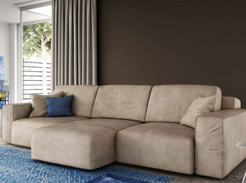 Итальянская мягкая мебель Charlie фабрики Biba Salotti