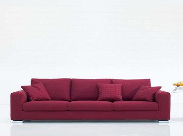 Итальянская мягкая мебель Plano фабрики Biba Salotti