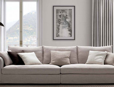 Итальянская мягкая мебель Ralph фабрики Biba Salotti