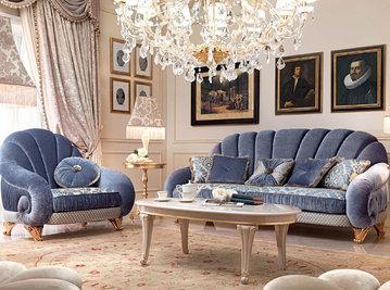Итальянская мягкая мебель Diamante фабрики BARNINI OSEO