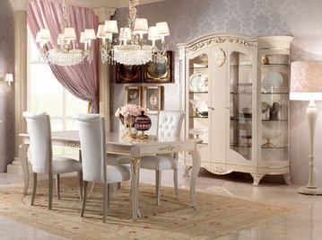 Итальянская гостиная Diamante Laccata фабрики BARNINI OSEO