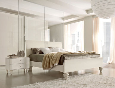 Итальянская спальня Fashion Time Bianco фабрики BARNINI OSEO