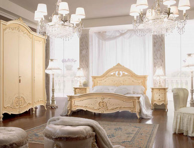 Итальянская спальня Prestige Plus Lacca Antica фабрики Barnini Oseo
