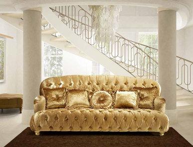 Итальянская мягкая мебель Canterbury Lifestyle Collection фабрики BM Style