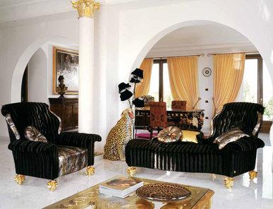 Итальянская мягкая мебель Afrodite Gran Sofa Collection фабрики BM Style