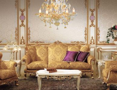 Итальянская мягкая мебель Delius Epoque фабрики Carlo Asnaghi