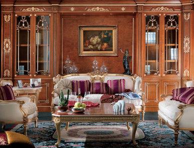 Итальянская мягкая мебель Nettuno Elite фабрики Carlo Asnaghi