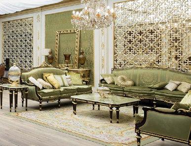 Итальянская гостиная фабрики Modenese Gastone Композиция 01
