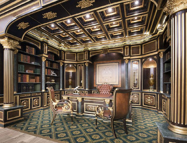 Итальянский кабинет фабрики Modenese Gastone Композиция 01