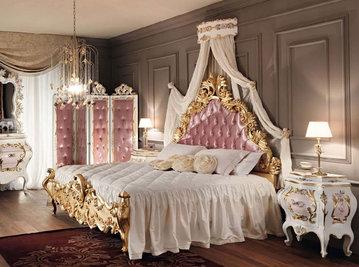 Итальянская спальня фабрики Modenese Gastone Композиция 01