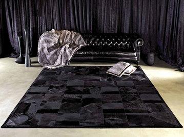 Итальянские меховые и кожаные ковры фабрики NEROCUOIO