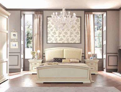 Итальянская двуспальная кровать Palazzo Ducale Laccato фабрики Prama