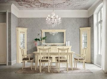 Итальянская столовая Tiffany laccato фабрики Dall'Agnese