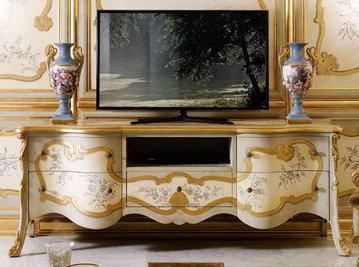 Итальянская мебель для ТВ фабрики ANDREA FANFANI