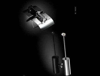Испанские аксессуары для ванной Rock фабрики MAIER