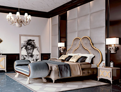 Итальянская спальня New York фабрики CARPANESE HOME