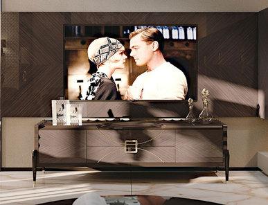 Итальянская мебель для ТВ фабрики CARPANESE HOME