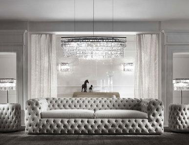 Итальянская мягкая мебель Chelsea фабрики DV HOME