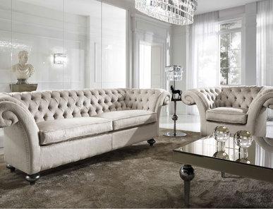 Итальянская мягкая мебель Icon фабрики DV HOME