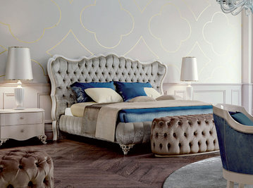 Итальянская кровать Paris фабрики CARPANESE HOME