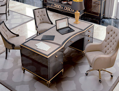 Итальянский письменный стол Dubai фабрики CARPANESE HOME