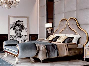 Итальянская кровать New York фабрики CARPANESE HOME