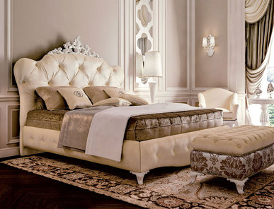 Итальянская кровать 6589 фабрики CARPANESE HOME