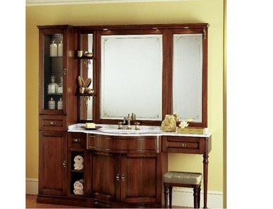 Итальянская мебель для ванной COMP. N. 1 IL BORGO фабрики EURODESIGN