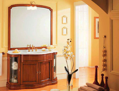 Итальянская мебель для ванной COMP. N. 2 IL BORGO фабрики EURODESIGN