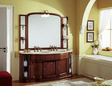 Итальянская мебель для ванной COMP. N. 6 IL BORGO фабрики EURODESIGN