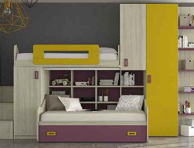 Итальянская детская спальня фабрики HAPPY (Композиция 570)