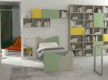 Итальянская детская кровать фабрики HAPPY (Композиция 571)